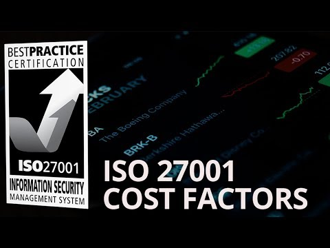 HOW MUCH DOES IT COST TO GET ISO 27001 CERTIFIED ...
