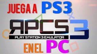 Descargar Y Configurar Emulador De PlayStation 3 Para PC   RPCS3   Tutorial   HD1080p