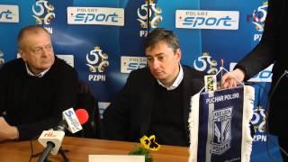 preview picture of video 'Konferencja po meczu Błękitni Stargard - Lech Poznań'