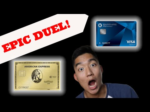 Amex Gold VS Chase Sapphire Preferred (Which One Is Better)
