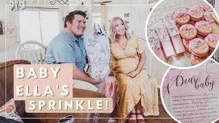 Our DIY Baby Girl Sprinkle | Baby Number 2