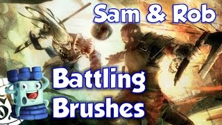 Battling Brushes 28: Guild Ball (Shank and Greyscales)