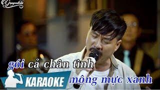 Lá Thư Đô Thị Karaoke Quang Lập (Tone Nam) | Nhạc Vàng Bolero Karaoke