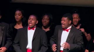 Jesus Is A Rock In A Weary Land - David W. Carter Choir