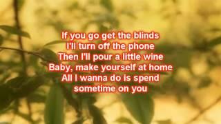 Chuck Wicks  - Mine All Mine (Lyrics)