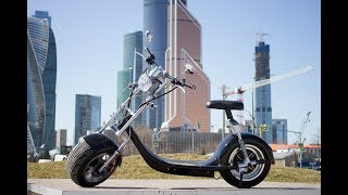 Электроскутер Harley Citycoco ElectroStreet - НОВИНКА 2018! Обзор и тест драйв