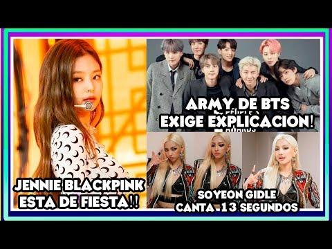 ARMY BTS EXIGE PREMIOS! JENNIE BLACKPINK DE FIESTA   BAILA SABROSO   SOYEON (G)I-DLE [OtitoMola]
