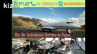 Receive Sky Air Ambulance Service at a very Low Cost in Delhi