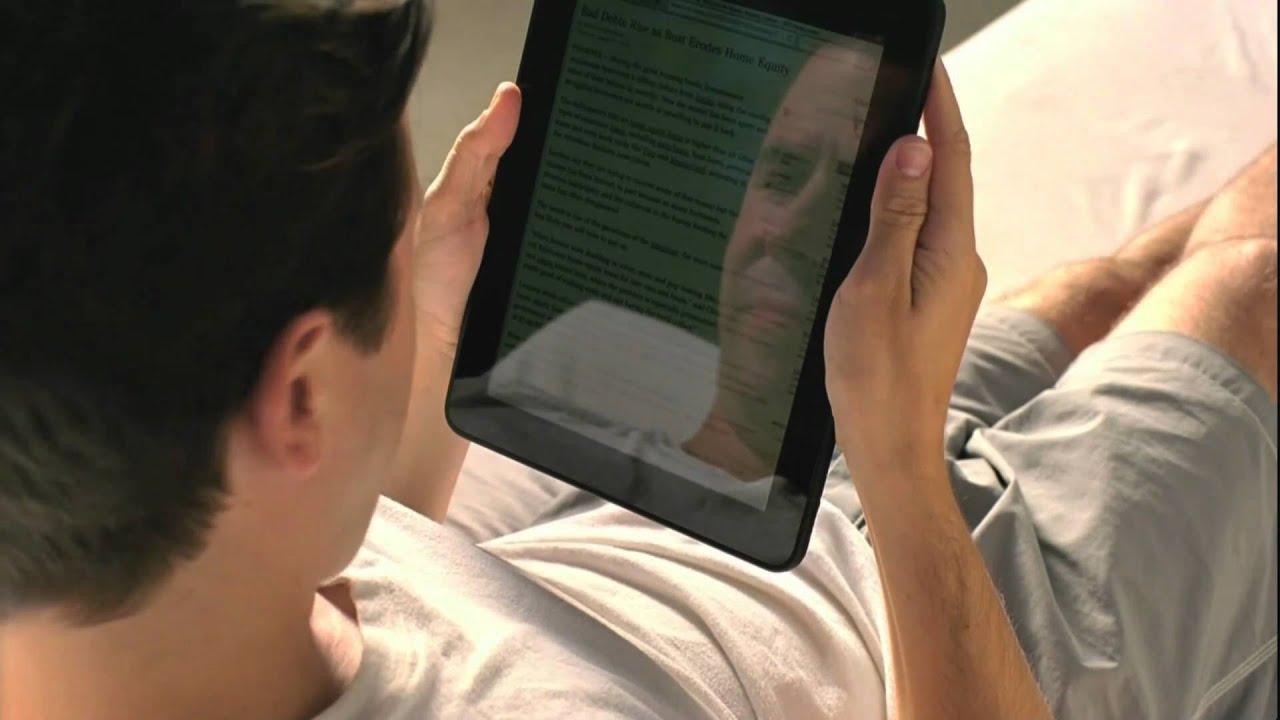 Watch The New Kindle Ad's iPad Takedown