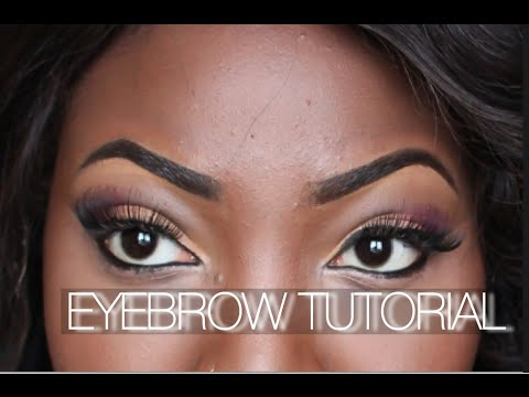 EYEBROW TUTORIAL-HOW TO SHAPE-UP, FILL / DRAW FLEEK BROWS