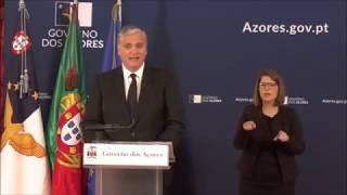 02/04: Governo dos Açores fixa cercas sanitárias em todos os concelhos da ilha de São Miguel