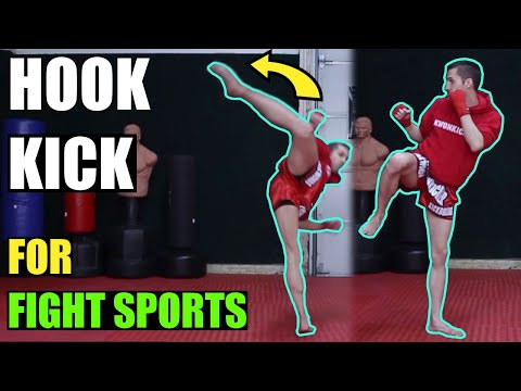 How to Hook Kick | Kwonkicker