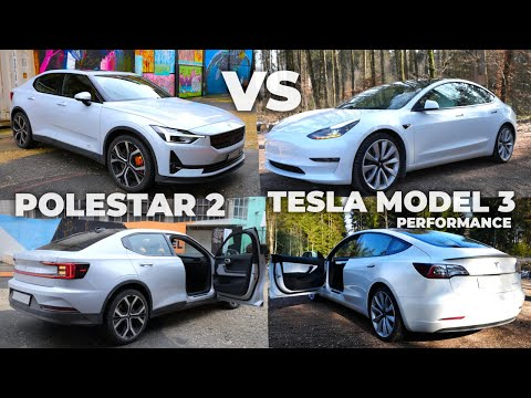Polestar 2 2021 vs Tesla Model 3 Performace 2021   Which one would you choose ?
