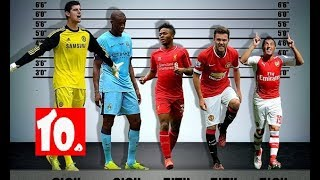 Top 10 Tallest Football Players