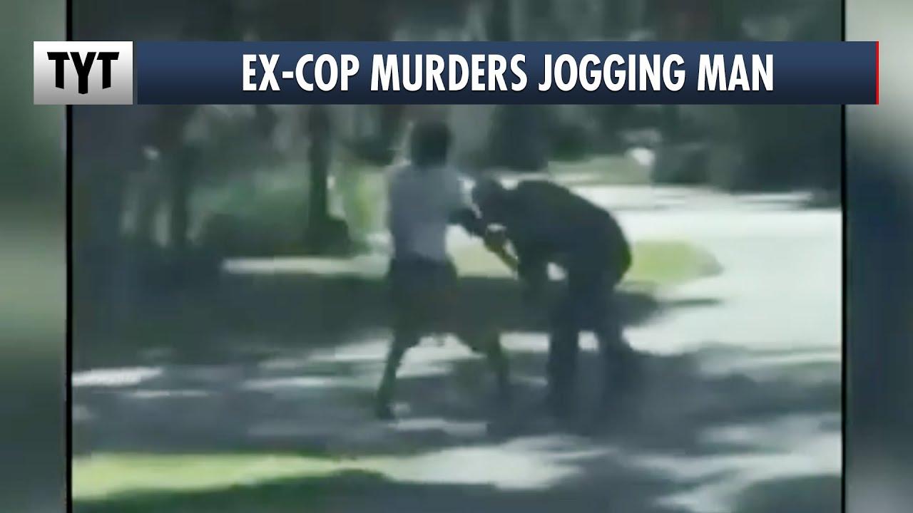 Ex-Cop Chases and Guns Down A Jogging Man thumbnail