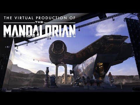 На съемках «Мандалорца» использовали технологию, меняющую производство кино (видео).