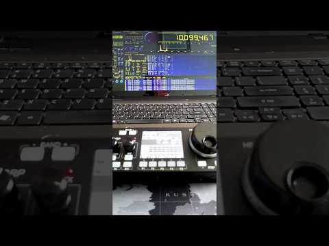 RTTY decoder with mcHF SDR transceiver - смотреть онлайн на