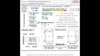 ASCE 7-05 Wind Pressure Calculation Tutorial