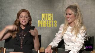 Anna Camp And Brittany Snow Chat With Joi About Pitch Perfect 3