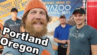 Pacific Northwest Sportsmen Show 2018 With WAZOO Survival Gear (vlog #24)