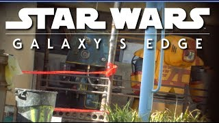 Hey it's a Star Wars Robot! | Galaxy's Edge construction | 2019-04-06
