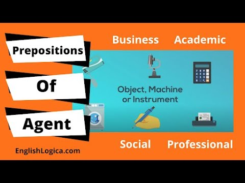 By and With - Prepositions of Agent and Instrument