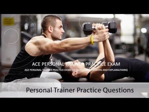 ACE Personal Trainer Practice Exam - YouTube