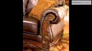 North Shore Dark Brown Living Room Furniture From Millennium By Ashley