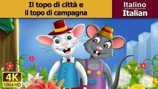 Il topo di  città e il topo di campagna | Storie Per Bambini | Favole Per Bambini | Fiabe Italiane