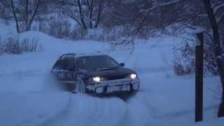 Народный тест Bridgestone Blizzak DM-V2 в открытом снегу