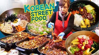 ORIGINAL Bibimbap & KOREAN STREET FOOD Night Market in Jeonju South Korea