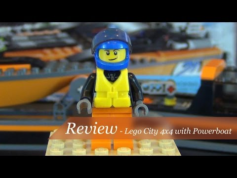 Review – Lego City 4×4 With Powerboat Set #60085