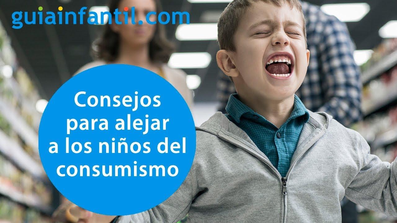 Cómo educar a los niños en el no consumismo | Conecta Con Tu Hijo