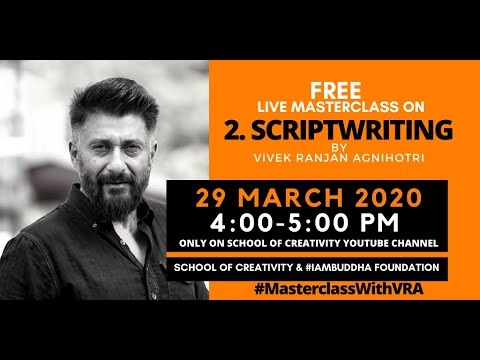 Scriptwriting    #MasterclasWithVRA    Day 2