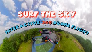 INTERACTIVE 360 CAMERA ON A DRONE!