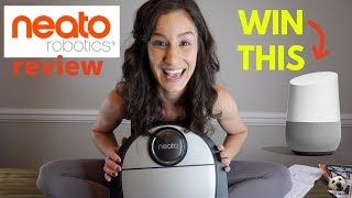 Lab Tested - Neato D7 Connected Review + Google Home Giveaway! #Neato #AndietheLab #GoogleHome