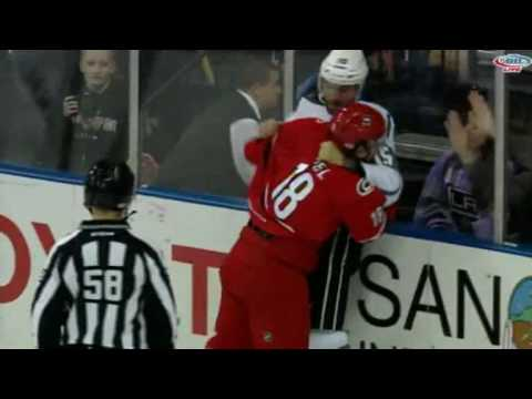 Paul Bissonnette vs. Kyle Hagel