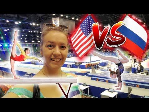 IDEM NA MAJSTROVSTVÁ SVETA!! | GYMNASTICS LOVERS | USA vs RUSSIA