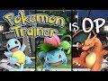 POKEMON TRAINER IS OP Smash Bros Ultimate Montage