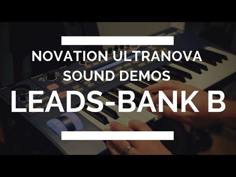 Novation Ultranova - Lead Sounds - Bank B - EVERY SOUND!