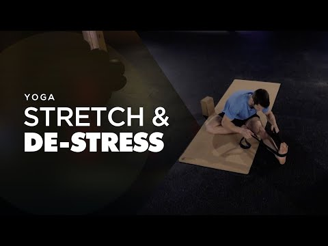 Restorative Gentle Yoga For Stress Relief and Flexibility | Free Beginners Routine From Yoga Boost
