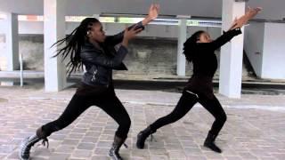 Gyptian   Non Stop (Whine) Ragga Dancehall Choréo By K'ren & Princiah