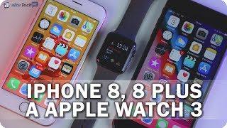 Apple iPhone 8, 8 Plus a Apple Watch Series 3: Inovace v konzervativním designu! - AlzaTech #615