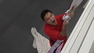 #36【谷阿莫Life】沒有繩索時我真的能拿床單代替垂降成功嗎?