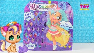 NEW Hairdorables Pets Series 1 Blind Box Toy Opening Review   PSToyReviews