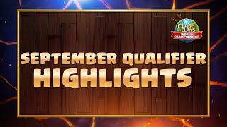September Qualifier Highlights