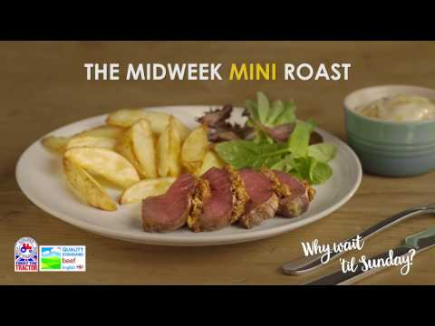 Mini Roast Beef with piri piri