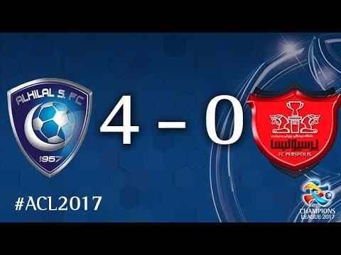 Al Hilal vs Persepolis (AFC Champions League 2017: Semi-finals – 1st Leg)