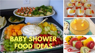 Baby Shower Food Ideas On A Budget Theme And Decoration