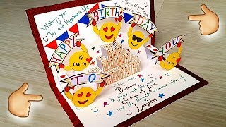 DIY Birthday Greeting Cards | Birthday Pop Up Cards | Birthday Cards Handmade